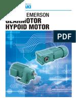 Tsubaki Emerson Gearmotor Hypoid