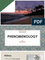 Fenomenologi