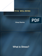 Health and Well Being