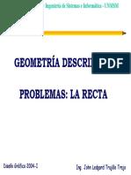 Geometria Descriptiva - Problemas