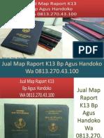 WA 0813.270.43.100, Jual Cover Raport TK di Labuhanbatu Sumatra Utara