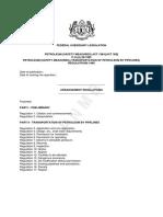 Petroleum Safety Measures Transportation of Petroleum by Pipelines Regulation 1985