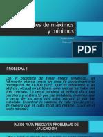Aplicaciones de Maximos y Minimos (1)