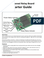 2 Channel Relay Board - Starter Guide