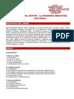 Manual Del Editor – La Moderna Industria Editorial