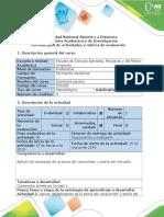 Guía de Actividades y Rúbrica de Evaluación - Actividad 2. Conceptos de La Teoria Del Consumidor y Del Mercado ACTIV.02