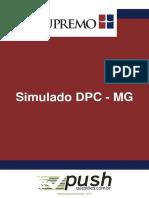 Simulado delegado