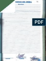 Formato de Cuaderno de Obra