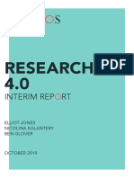 Research 4.0 Interim Report