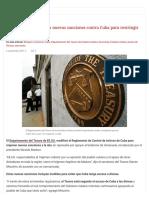 Estados Unidos Anuncia Nuevas Sanciones Contra Cuba Para Restringir Acceso a Divisas _ Cubadebate