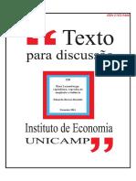 texto para discussão UNICAMP - Economia