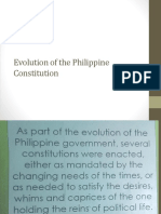 2. Evolution of the Philippine Constitution 1