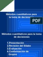 Métodos Cuantitativos 1