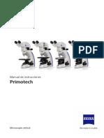 Manual de instrucciones microscopios Zeiss