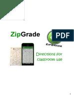 313218308 Zipgrade Instructions