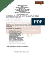 Proyecto Chocolate Artesanal Final