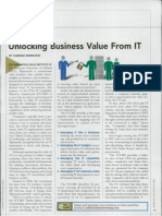 Unlocking Business Value From IT