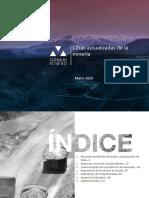 Cifras Actualizadas de La Mineria Marzo 2019