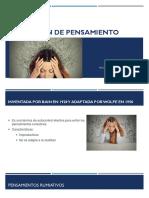TECNICA DE DETENCION DE PENSAMIENTO