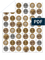 Billetes y Monedas Chilenas