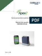 Manual Apex2 Es