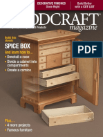 Woodcraft Magazine USA - Issue # 075 - February, March 2017 - Build This Classic Spice Box