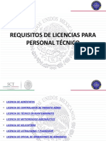 Requisitos-Licencias DGAC