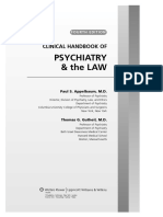 Psychiatry & the Law