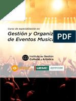 Gestion Organizacion Eventos Musicales