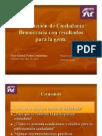 Foro Ciudadano Puebla Construcción de Ciudadanía Retos y Caminos Puebla nov 16  2010