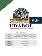 Perfil de Proyectoperfil de proyecto de una planta industrialiadora de harina de haba