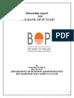 Internship Report 2019 Bop Karor