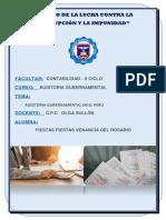 Auditoria Gubernamental en El Perú