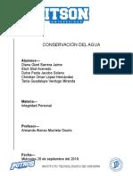 Losintegrales_Conservación Del Agua