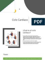 Ciclo Cardiaco Fisio