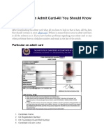 CA Foundation Admit Card-You Should Know.