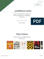 Scribd - Read Books, Audiobooks, And More