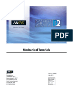 ANSYS Mechanical Tutorials 2019 R2