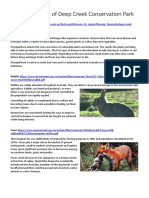 invasive species of deep creek conservation park