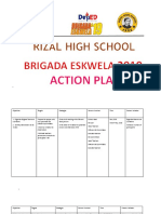 1.2 Objectives2019 Be Action Plan