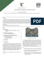 Procesos de deformación en la corteza terrestre