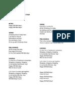 SM Mall-idays Lyrics