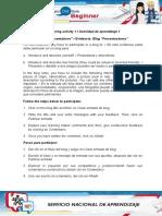 Evidence Blog Presentations (1) Ana