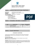 Msds Aminosol Csp 115