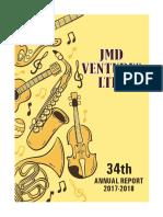 JMD Venture Annual Report 2018