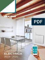 201909 Ducasa Catálogo Calefacción 2019-2020