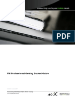 FM Professional Getting Started Guide