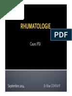 2014-Rhumatologie