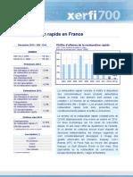 La Restauration Rapide en France