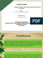 Laporan Kasus Pneumothorax Dr Yogi